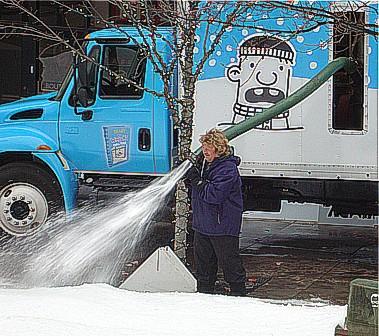 real snow machine