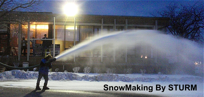 Making Snow Real Snow For Special Events Marketing Promotions